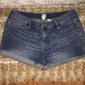 J Crew rolled jean short
